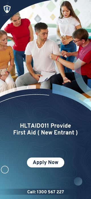 HLTAID011 Provide First Aid New Entrant Online Course in Melbourne, Australia - Oscar Academy Provide First Aid course in AU