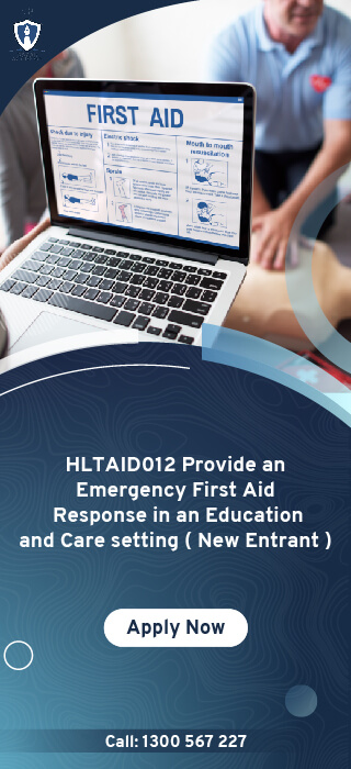 HLTAID012 Provide an Emergency First Aid Response New Entrant Online Course in Melbourne, Australia - Oscar Academy Provide First Aid course in AU